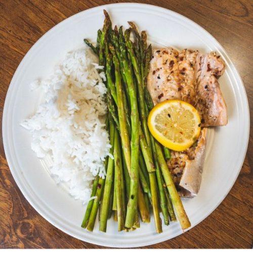 gluten free roasted asparagus