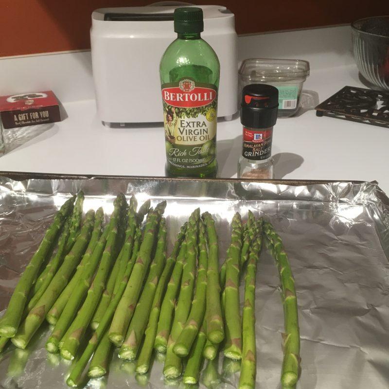 gluten free, gluten free dad, asparagus