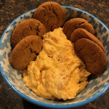 Gluten Free Pumpkin Fluff Dip