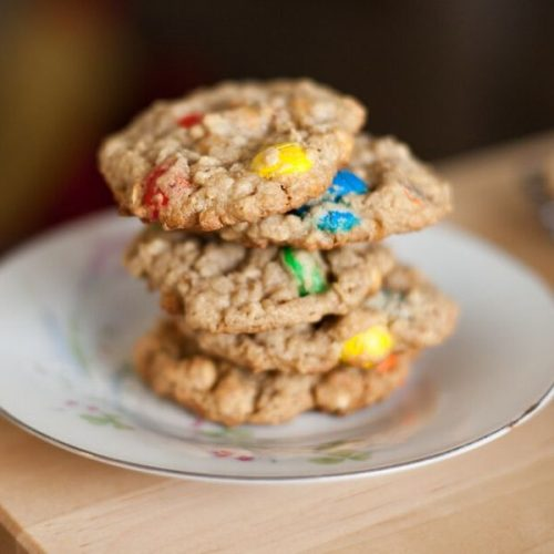 gluten free monster cookie