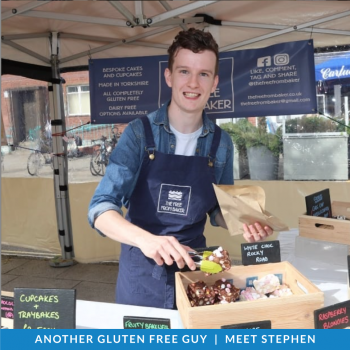 Gluten Free Guys: Meet Stephen!