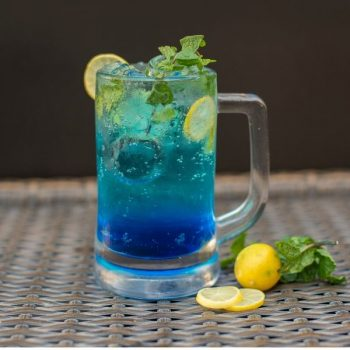 Gluten Free Dad's Blue Drink