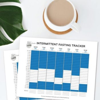 Intermittent Fasting Weekly Tracker