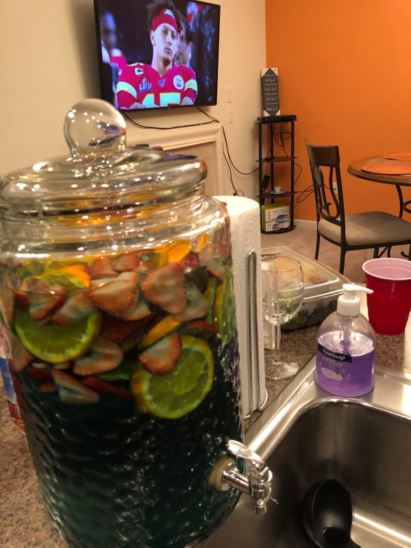 party punch recipe; is blue curaçao gluten free