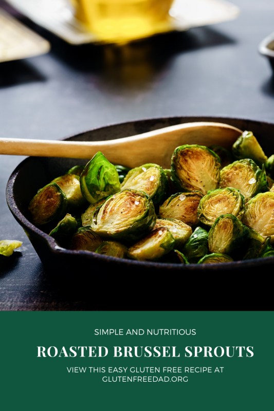 Roasted Brussel Sprouts pin