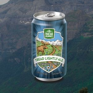 New Planet Tread Lightly Ale (Gluten removed)