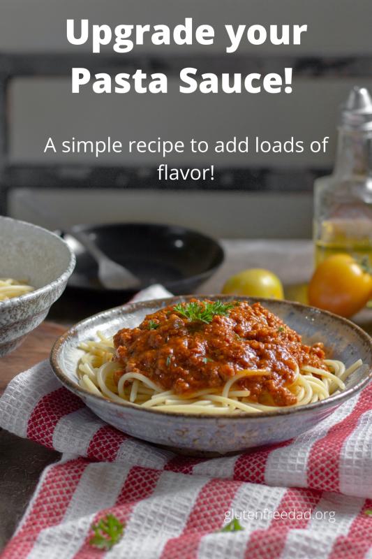 gluten free pasta sauce