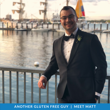 Gluten Free Guys: Meet Matt!