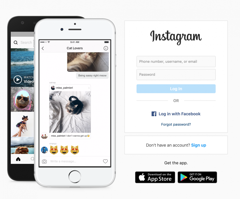 Instagram Account Deactivated