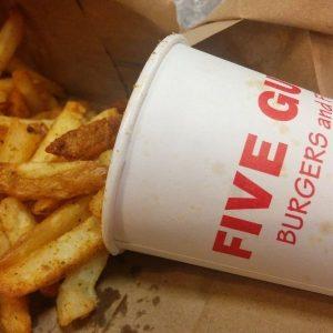 gluten free five guys