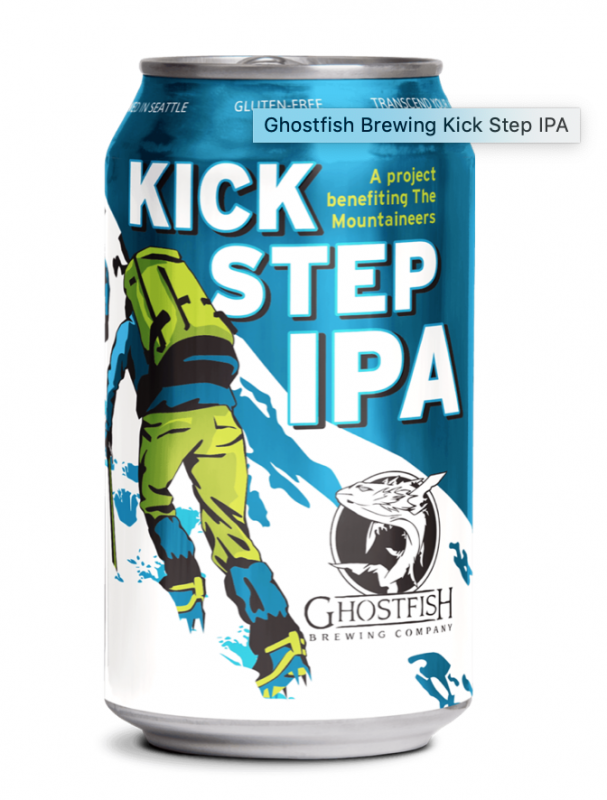 Ghost Fish Brewing Kick Step IPA