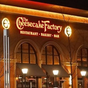 Cheesecake Factory gluten free