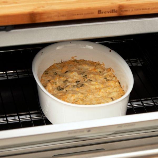 easy baked crap dip