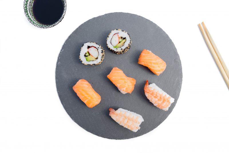 is sushi gluten free