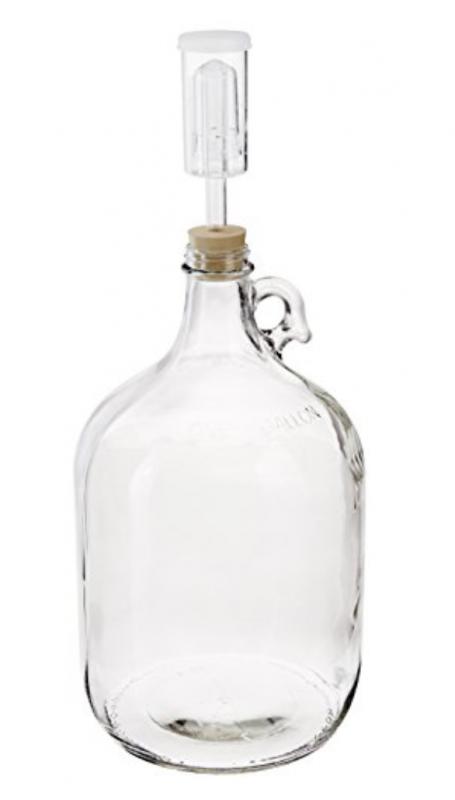 hard apple cider fermenting jug