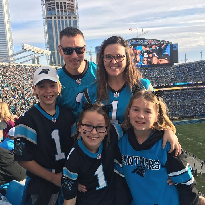 gluten free dad, Carolina Panthers